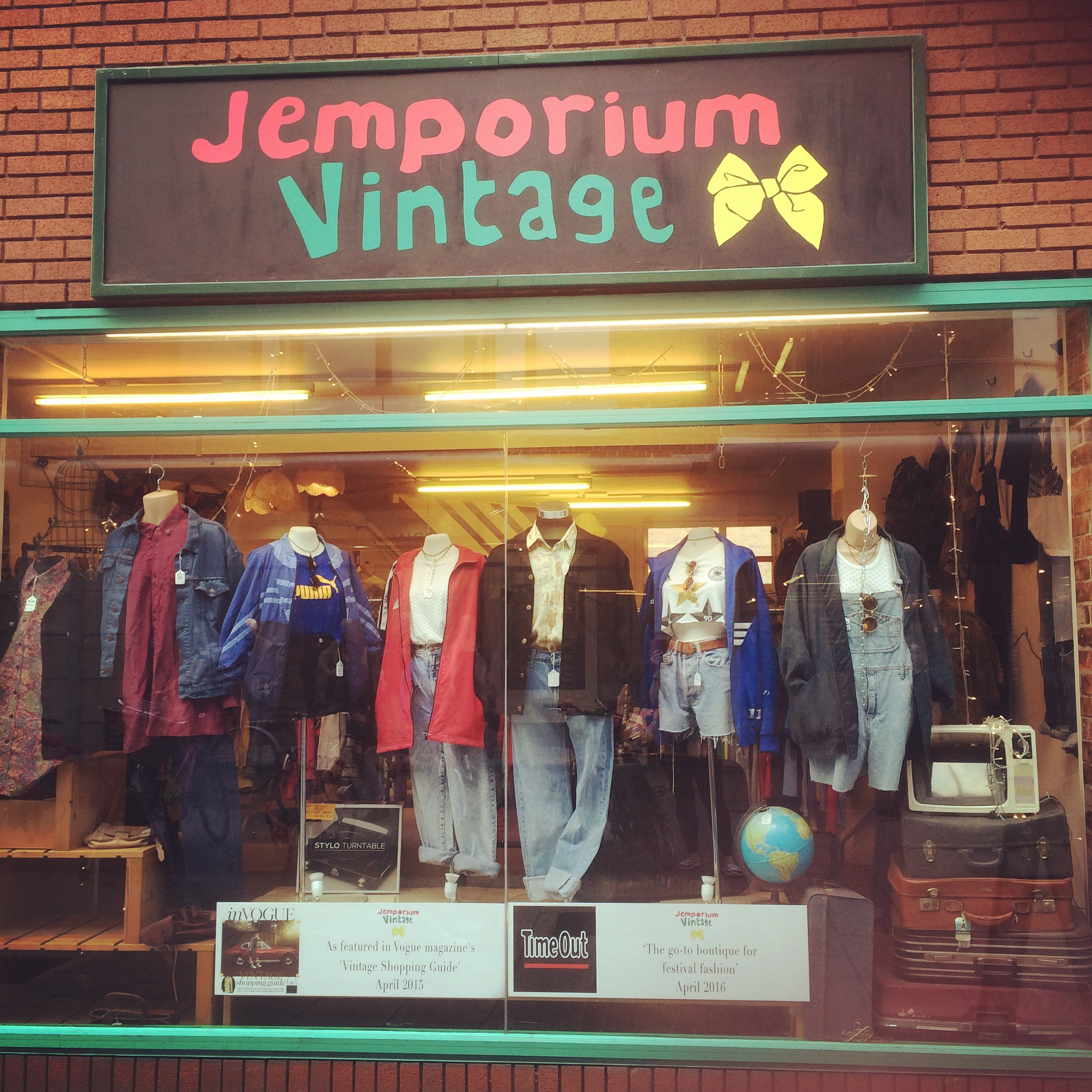 Vintage Shop in Cambridge